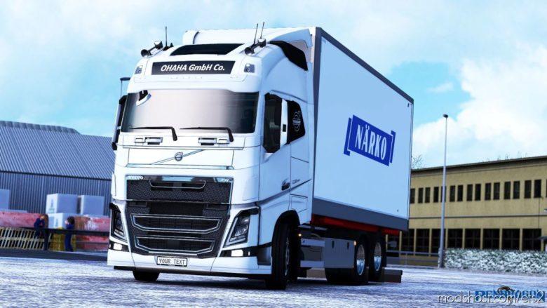 Rigid Addon For Volvo FH 2012 Classic V3.3 for Euro Truck Simulator 2