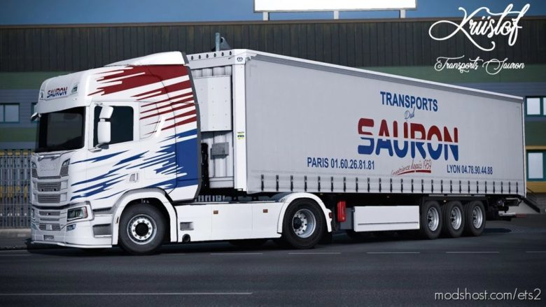 Skinpack Sauron for Euro Truck Simulator 2