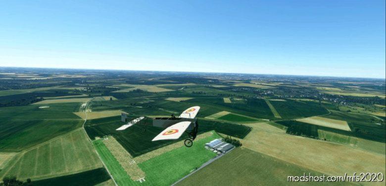 Blériot XI Belgian AIR Force BL333 for Microsoft Flight Simulator 2020