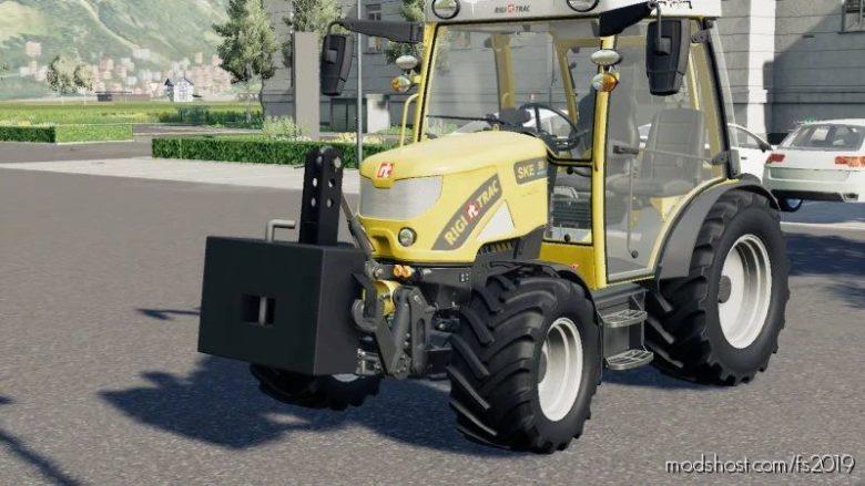 Stahl Gewicht Converted for Farming Simulator 19