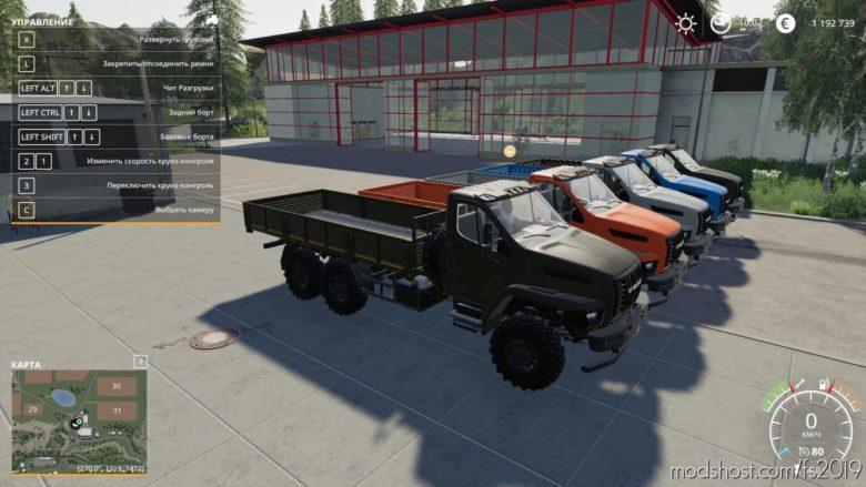 Ural Next 6X6 Flatbed for Farming Simulator 19