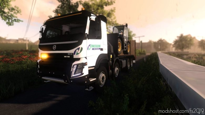 Nixon Volvo ONE for Farming Simulator 19