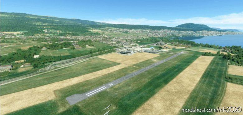 Lsgn – Neuchatel Airfield for Microsoft Flight Simulator 2020