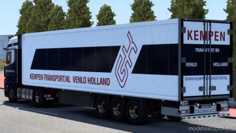 Kempen Transport VB Skin Pack for Euro Truck Simulator 2
