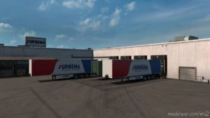 Realistic Default Company Liveries V1.6 for Euro Truck Simulator 2