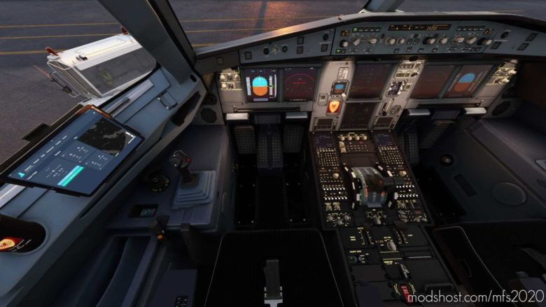 FBW A32NX – Carbon Cockpit Works Flybywire for Microsoft Flight Simulator 2020