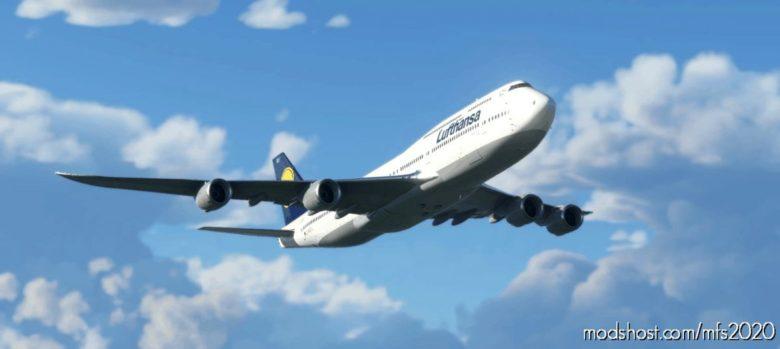 [Ultra][No-Mirror] Asobo Boeing 747-8I Lufthansa (D-Abyu) for Microsoft Flight Simulator 2020