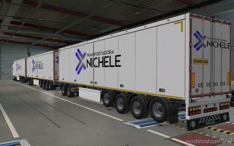 Skin SCS Trailers Transportadora Nichele [1.40] for Euro Truck Simulator 2