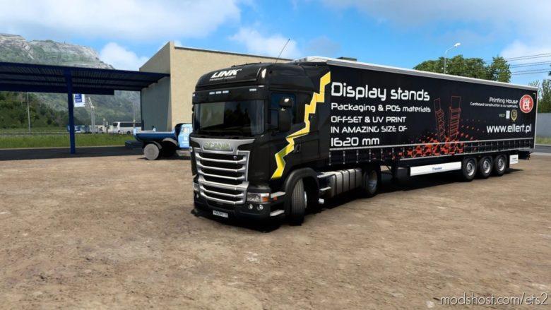 Combo Skin Link Scania RJL for Euro Truck Simulator 2