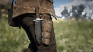 Black Knife Sheath for Red Dead Redemption 2