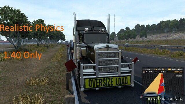 Trainguy's Physics Mod V2.0 [1.40] for American Truck Simulator