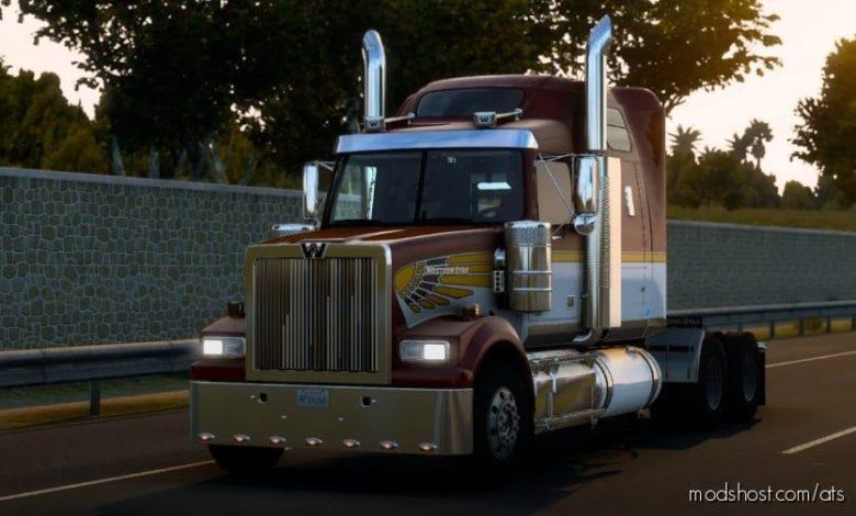 Western Star 4900FA Truck V3.3 for American Truck Simulator