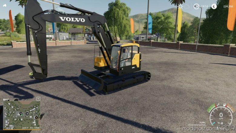 Volvo ECR145 for Farming Simulator 19