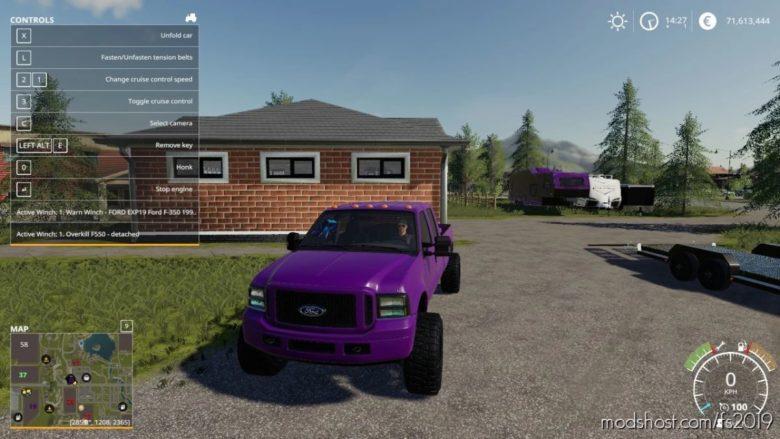 2006 Ford Powerstroke Gwr27Yt for Farming Simulator 19