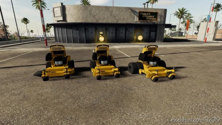 Wright Mower for Farming Simulator 19