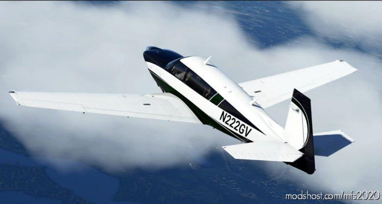 Forest Slate Livery For Carenado Mooney for Microsoft Flight Simulator 2020