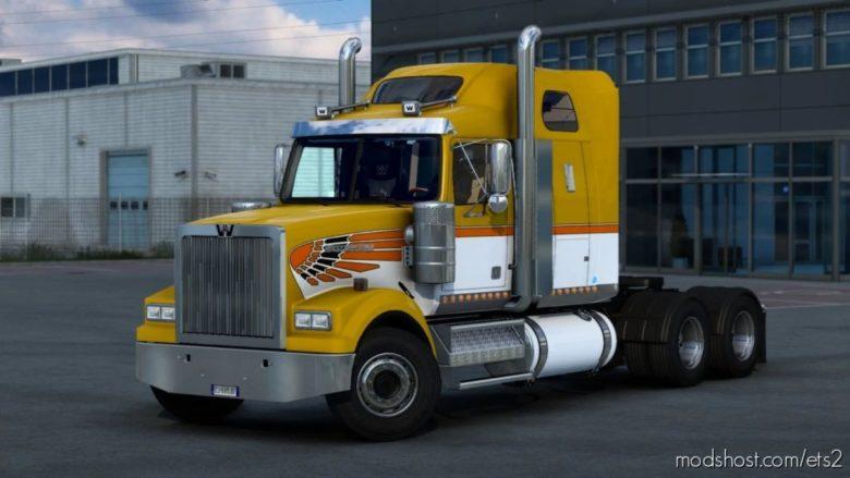 Western Star 4900FA V3.3.1 for Euro Truck Simulator 2