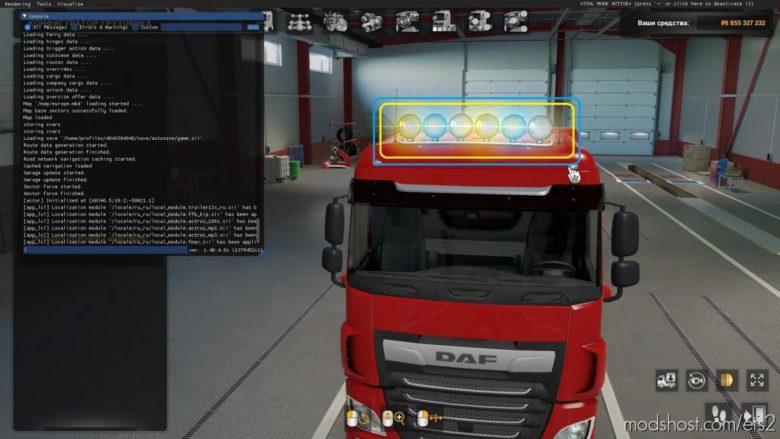Hella Rallye 3000 FIX Light [1.40.X] for Euro Truck Simulator 2