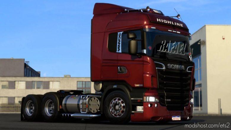 Scania R&S And 124G Brazilian Edit [1.40] for Euro Truck Simulator 2