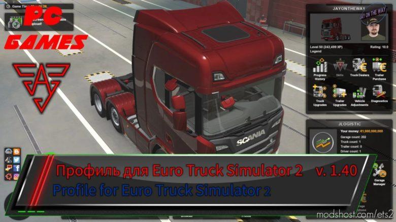 Upgraded Profile V4.0 [1.40.X] for Euro Truck Simulator 2