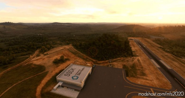 Ssdk – Aeroporto SãO Pedro for Microsoft Flight Simulator 2020