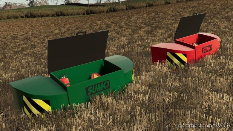 Sumo Weight for Farming Simulator 19