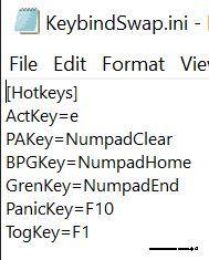 Mini Keybind Changer – GUI for Fallout 76