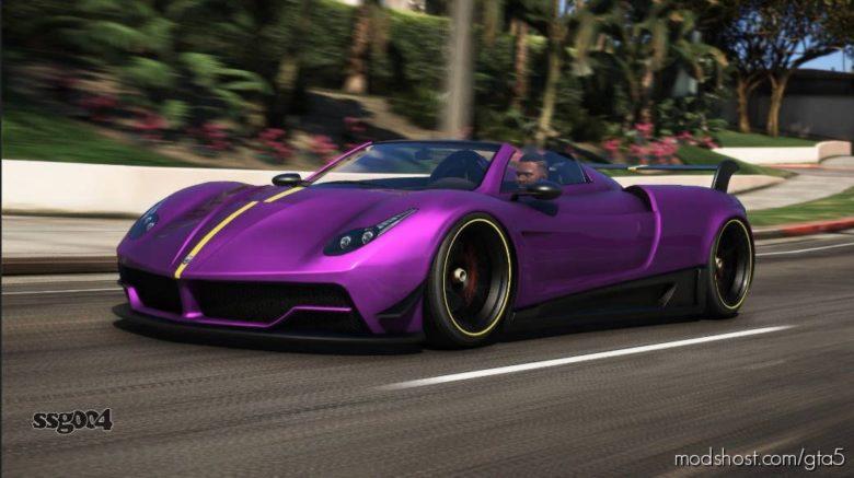 Pegassi Osiris Roadster V1.2 for Grand Theft Auto V