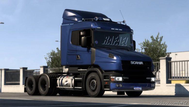 Scania T And T 124G Brazilian Edit [1.40] for Euro Truck Simulator 2