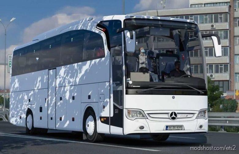Mercedes Travego Se-15Shd-2015 Megamod [1.40.X] for Euro Truck Simulator 2