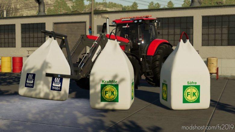 Storsekkpack V1.2 for Farming Simulator 19