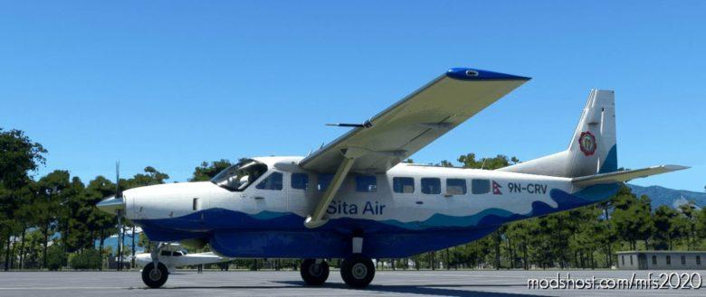 Cessna 208B Grand Caravan Sita AIR [4K Fictional] for Microsoft Flight Simulator 2020