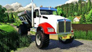 Kenworth T880 Spreader for Farming Simulator 19