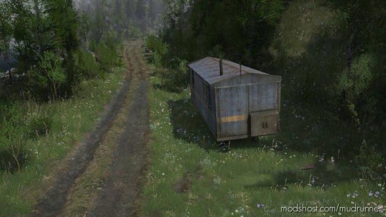 Forest 3 Map for MudRunner
