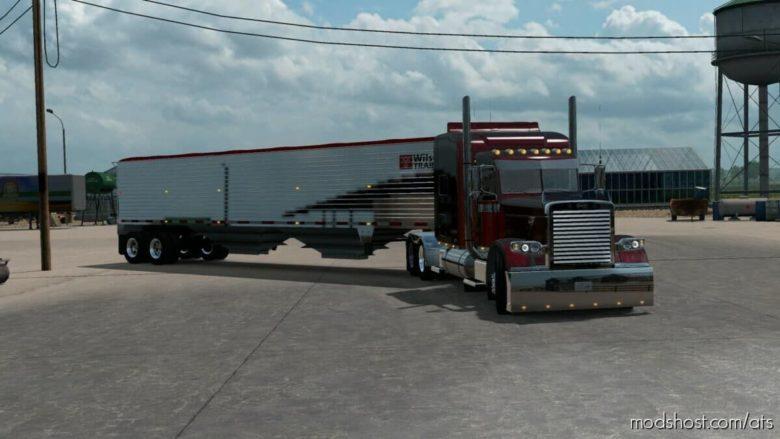 The Wilson Grain Hopper Ownable [1.40] for American Truck Simulator