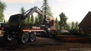 Rösab Volvo EW160 Excavator for Farming Simulator 19
