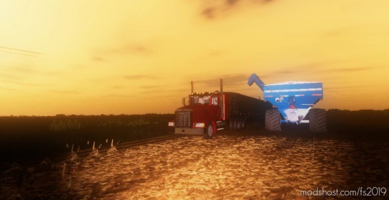 Peterbilt 377B for Farming Simulator 19