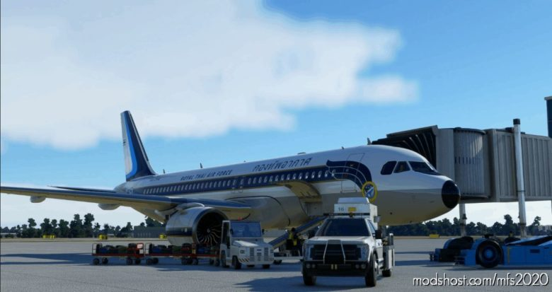 FBW A32NX Royal Thai AIR Force for Microsoft Flight Simulator 2020