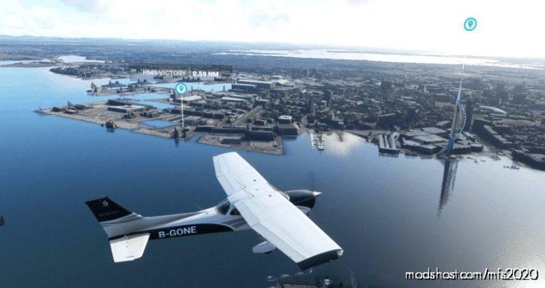Southampton To Oxford for Microsoft Flight Simulator 2020