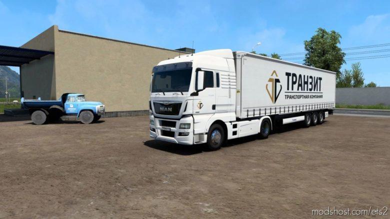 Combo Skin Transit for Euro Truck Simulator 2