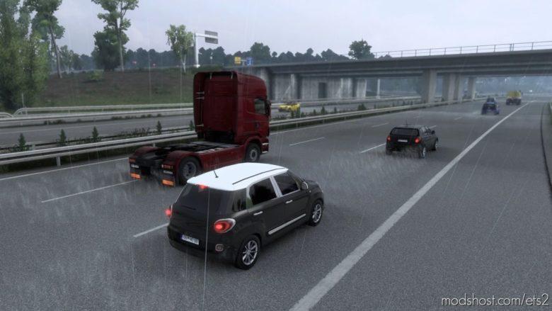 Beautiful Rain HD [1.40] for Euro Truck Simulator 2