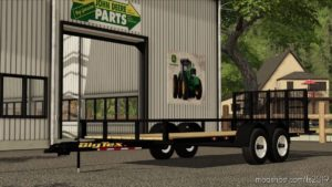 24FT Bumper Pull Bigtex Lawncare for Farming Simulator 19