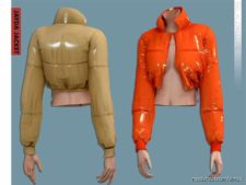 Belaloallure Jayda Jacket for The Sims 4