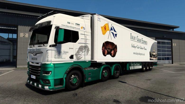 Islay Crab Exports Skin Pack V2.0 for Euro Truck Simulator 2