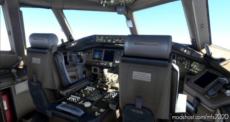 Captain SIM 777-200 Custom Views for Microsoft Flight Simulator 2020