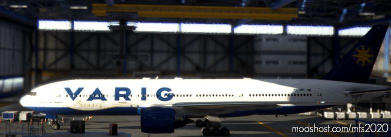 Captainsim 777-200ER Varig Pp-Vrc V1.1 for Microsoft Flight Simulator 2020
