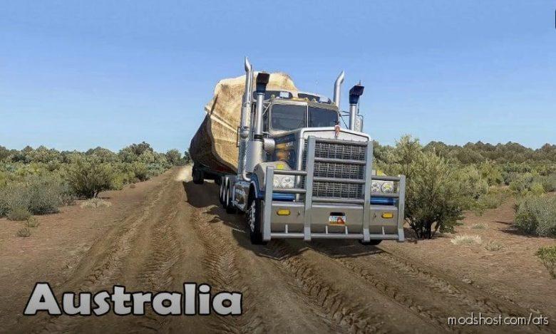 Australia Outback Map [1.40] for American Truck Simulator