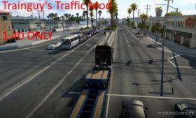Trainguy's Traffic Mod [1.40] for American Truck Simulator