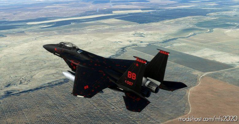 Bond 007 F-15D V2.0 for Microsoft Flight Simulator 2020