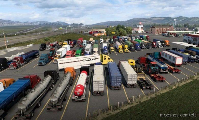 American Truck Stop [1.40.X] for American Truck Simulator